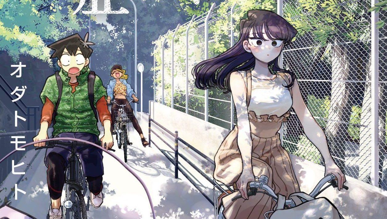 """Visual promocional da adaptação em anime de """"Komi-san wa, Komyushou desu"""""""